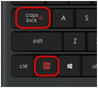 K830 Scroll Lock key