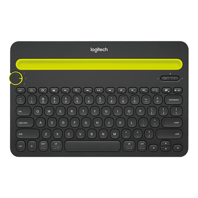 Produktbild av Bluetooth Multi-Device Keyboard K480