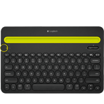 Bluetooth Multi-Device Keyboard K480 (K480BK) - ブラック