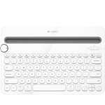 Bluetooth Multi-Device Keyboard K480 (K480WH) - ホワイト