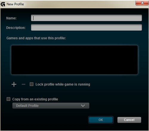Creating new gaming-mouse profiles – Logitech Support + Download