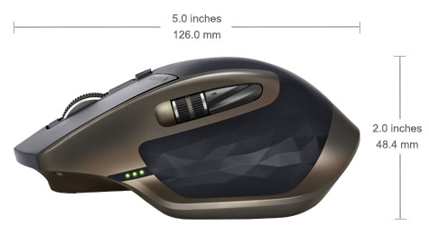 Logitech Mx Master Wireless Mouse For Power Users