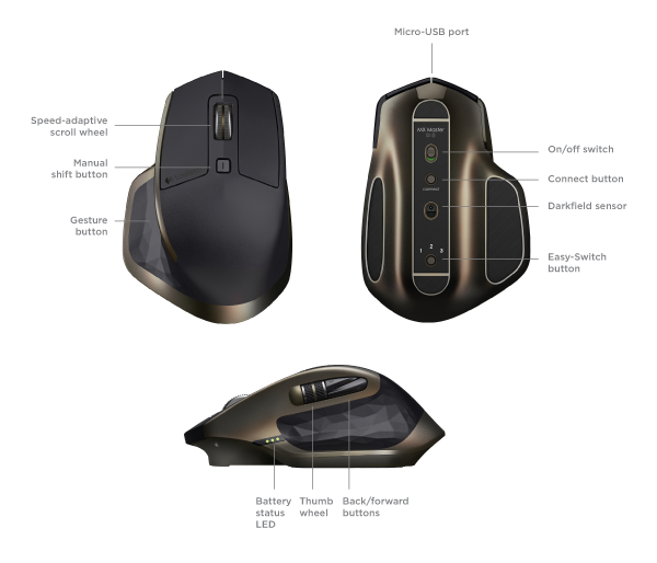 Mice Logitech Non Gaming Wireless Mouse With A Clicking