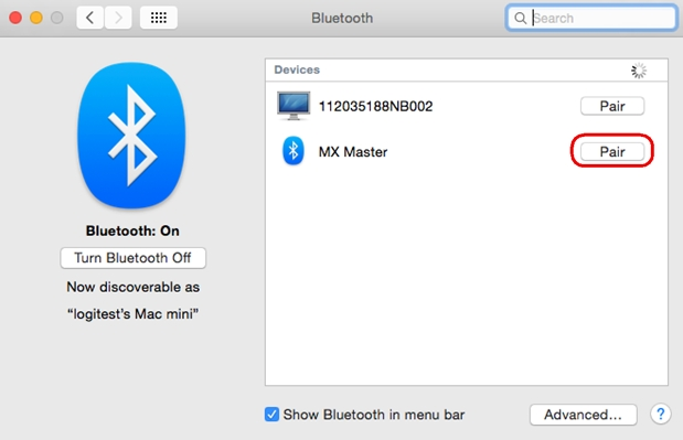 a7dfe99d3d6 In the Bluetooth window on your Mac, click Pair to complete pairing.