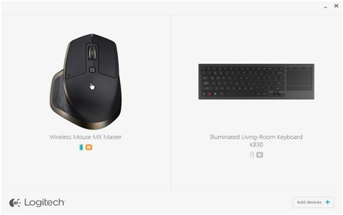 Configure the MX Master mouse with Logitech Options