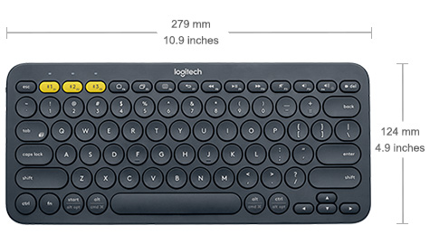 TECLADO BLUETOOTH MULTIDISPOSITIVO K380
