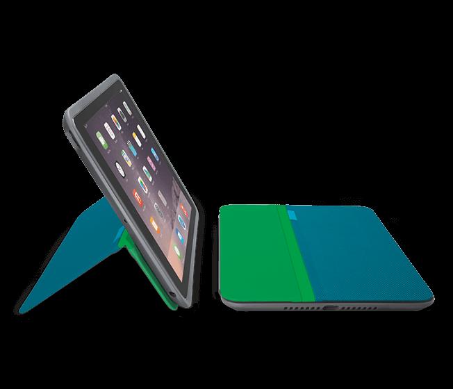 AnyAngle (iC0751GT) - iPad mini用 - ティール(青緑)