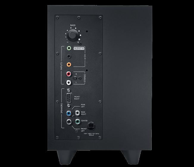 Logitech - Surround Sound Speakers Z506