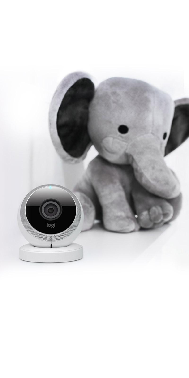 logitech circle wlan kamera f r mehr sicherheit zu hause. Black Bedroom Furniture Sets. Home Design Ideas