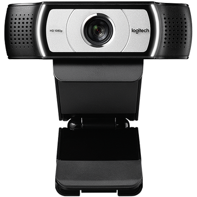Close up of c930e webcam camera
