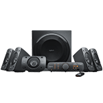 Z906 5.1 Surround Sound Speaker System THX Surround Sound - Black