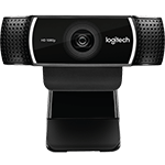 C922 Pro Stream Webcam - Black