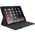 SLIM FOLIO - Schwarz - UK English (Qwerty)