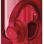 G433 7.1 Surround Gaming Headset mit Kabel - Rot