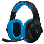 G233 Prodigy Wired Gaming Headset Immersion for gaming. Comfort for living. - Black