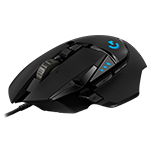 G502 HERO High Performance Gaming Mouse HERO 16k Sensor