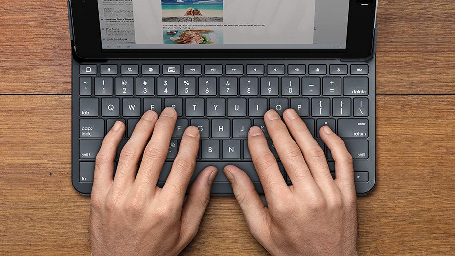 Comfortable Laptop-Like Typing