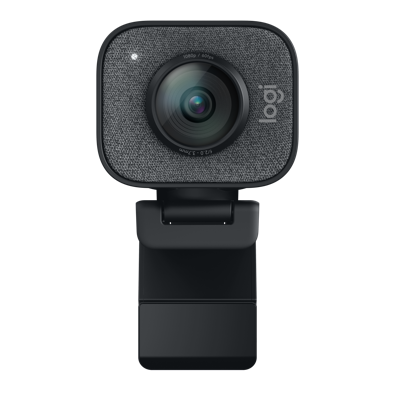 Logi StreamCam Black - Large with straight View