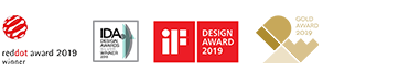 reddot award 2019 | DESIGN AWARD 2019 | GOOD DESIGN 2019 | IDEA Gold Award