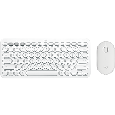 Product Image of K380 FOR MAC MULTI-DEVICE KEYBOARD  M350 LOGITECH PEBBLE  MOUSE