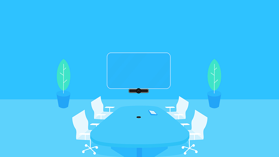 Graphic of meeting room