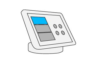 Illustration of Logitech SmartDock