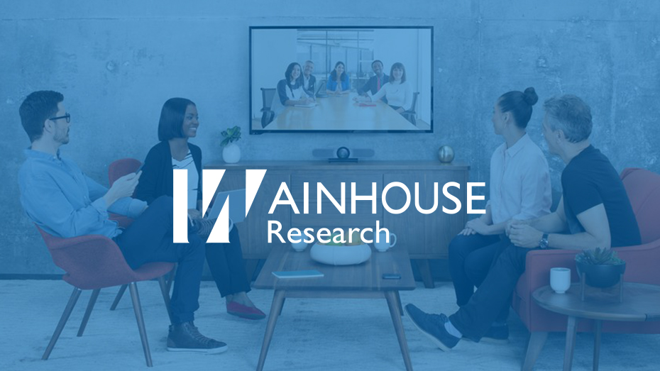 WAINHOUSE RESEARCH OPINA SOBRE LOGITECH MEETUP