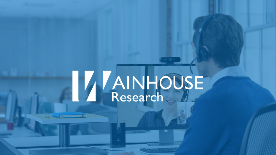 Logitech BRIO Evaluated by Wainhouse Research